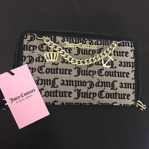Juicy Couture Large Bifold Wallet NWT